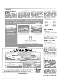 Maritime Reporter Magazine, page 14,  Jan 2000