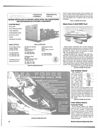 Maritime Reporter Magazine, page 16,  Jan 2000 California