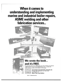 Maritime Reporter Magazine, page 33,  Jan 2000 fabrication services
