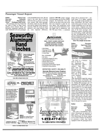 Maritime Reporter Magazine, page 34,  Jan 2000