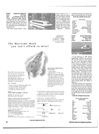 Maritime Reporter Magazine, page 42,  Jan 2000