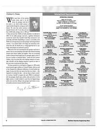 Maritime Reporter Magazine, page 6,  Jan 2000