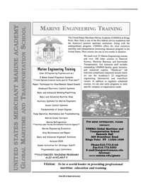 Maritime Reporter Magazine, page 2nd Cover,  Feb 2000