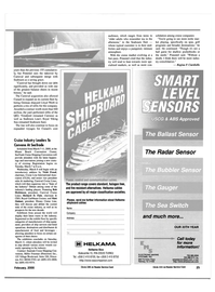 Maritime Reporter Magazine, page 25,  Feb 2000
