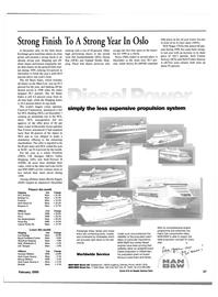 Maritime Reporter Magazine, page 37,  Feb 2000 cruise operator