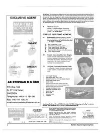 Maritime Reporter Magazine, page 2,  Feb 2000