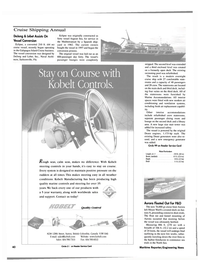 Maritime Reporter Magazine, page 40,  Feb 2000