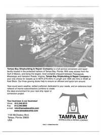 Maritime Reporter Magazine, page 42,  Feb 2000