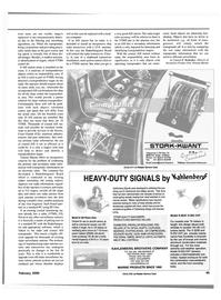 Maritime Reporter Magazine, page 45,  Feb 2000 S-120 Piston