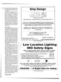 Maritime Reporter Magazine, page 51,  Feb 2000