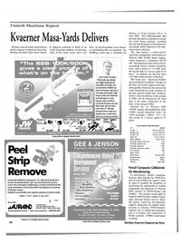 Maritime Reporter Magazine, page 54,  Feb 2000