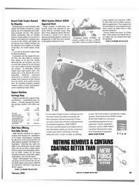 Maritime Reporter Magazine, page 55,  Feb 2000
