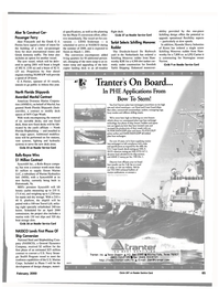 Maritime Reporter Magazine, page 65,  Feb 2000