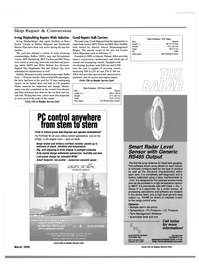Maritime Reporter Magazine, page 29,  Mar 2000
