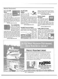 Maritime Reporter Magazine, page 42,  Mar 2000 satellite tracking antenna