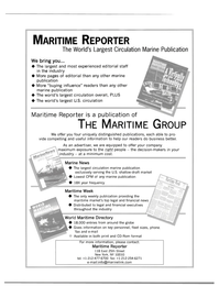 Maritime Reporter Magazine, page 64,  Mar 2000