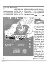 Maritime Reporter Magazine, page 18,  Apr 2000 east coast