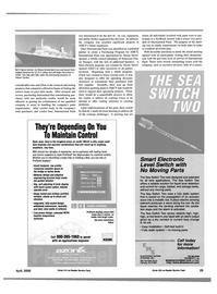 Maritime Reporter Magazine, page 29,  Apr 2000