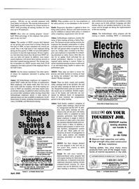Maritime Reporter Magazine, page 37,  Apr 2000 Washington