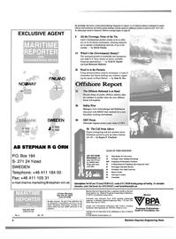 Maritime Reporter Magazine, page 2,  Apr 2000
