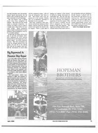 Maritime Reporter Magazine, page 41,  Apr 2000