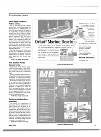 Maritime Reporter Magazine, page 53,  Apr 2000 Improved Control Known