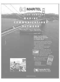 Maritime Reporter Magazine, page 59,  Apr 2000 voice and data transmission