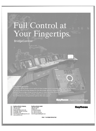Maritime Reporter Magazine, page 61,  Apr 2000 Raytheon Marine Company