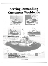 Maritime Reporter Magazine, page 9,  May 2000 Serving Demanding Customers Worldwide