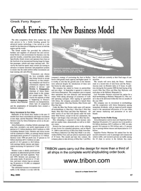 Maritime Reporter Magazine, page 49,  May 2000 Adriatic Sea