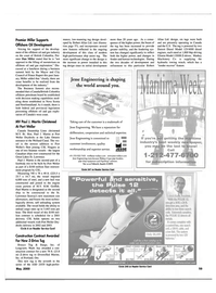 Maritime Reporter Magazine, page 61,  May 2000 Washington