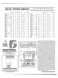 Maritime Reporter Magazine, page 3rd Cover,  May 2000 Texas