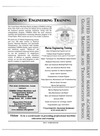 Maritime Reporter Magazine, page 5,  May 2000 USMMA Global Maritime and Transportation School