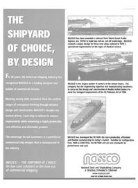 Maritime Reporter Magazine, page 13,  Jun 15, 2000