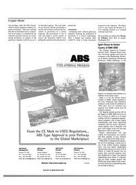 Maritime Reporter Magazine, page 18,  Jun 15, 2000 ABS Americas Division Houston