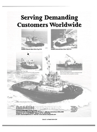 Maritime Reporter Magazine, page 23,  Jun 15, 2000 Serving Demanding Customers Worldwide
