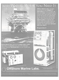 Maritime Reporter Magazine, page 3rd Cover,  Jun 15, 2000 NEED IT OffShore Marine Labs