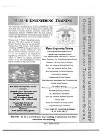 Maritime Reporter Magazine, page 5,  Jun 15, 2000 USMMA Global Maritime and Transportation School