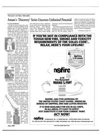 Maritime Reporter Magazine, page 7,  Jun 15, 2000