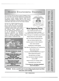 Maritime Reporter Magazine, page 13,  Jul 2000 USMMA Global Maritime and Transportation School