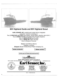 Maritime Reporter Magazine, page 2nd Cover,  Jul 2000
