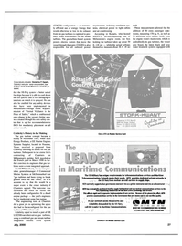 Maritime Reporter Magazine, page 27,  Jul 2000 Navy