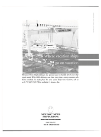 Maritime Reporter Magazine, page 39,  Jul 2000 Newport News shipbuilding