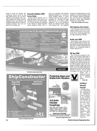 Maritime Reporter Magazine, page 42,  Jul 2000 Florida