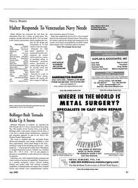Maritime Reporter Magazine, page 57,  Jul 2000