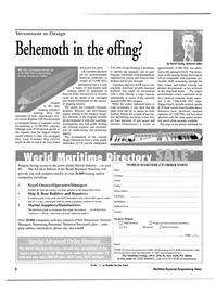 Maritime Reporter Magazine, page 8,  Aug 2000 marine equipment