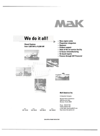 Maritime Reporter Magazine, page 11,  Aug 2000 Caterpillar Company