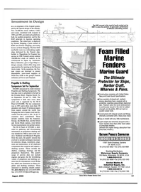 Maritime Reporter Magazine, page 13,  Aug 2000 Texas