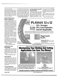Maritime Reporter Magazine, page 21,  Aug 2000 Oregon