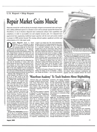 Maritime Reporter Magazine, page 25,  Aug 2000 Caribbean